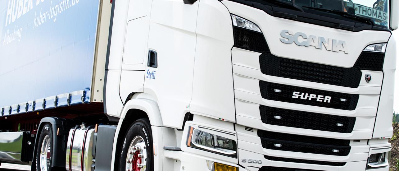 Fuhrparkerweiterung - Huber Logistik