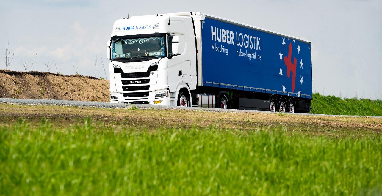 Huber Logistik - Qualität - Umwelt