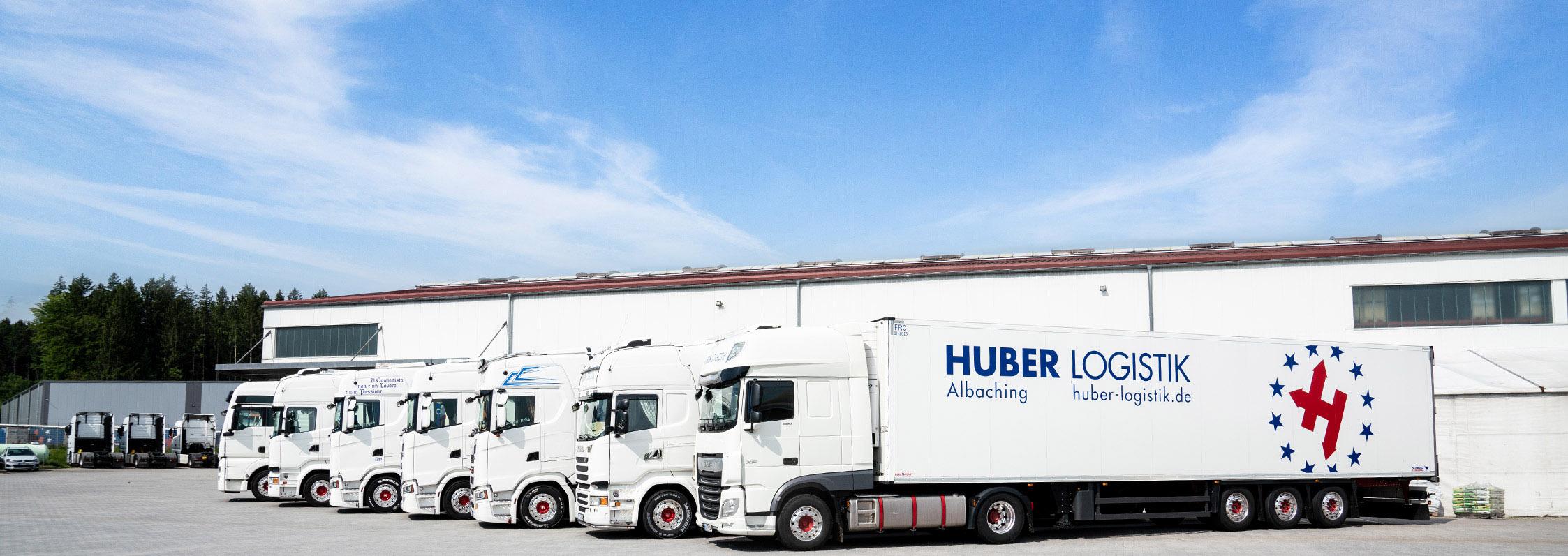 Erneute Fuhrparkerweiterung - Huber Logistik